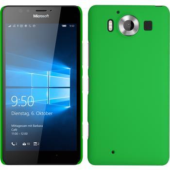 Hardcase Lumia 950 gummiert grün