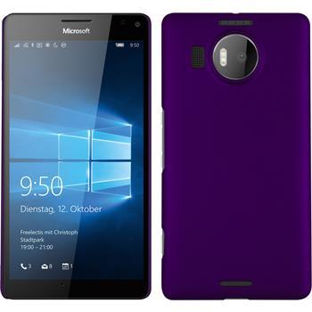 Hardcase Lumia 950 XL gummiert lila