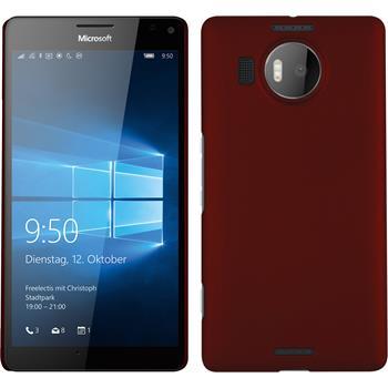 Hardcase Lumia 950 XL gummiert rot