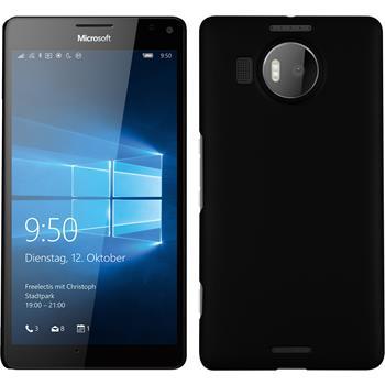 Hardcase Lumia 950 XL gummiert schwarz