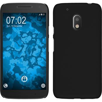 Hardcase Moto G4 Play gummiert schwarz