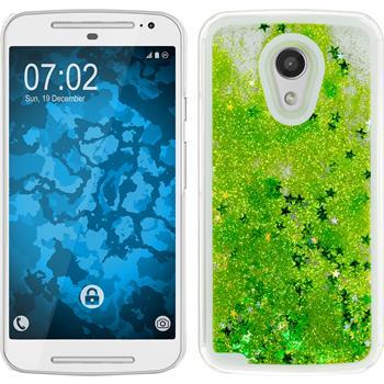 Hardcase für Motorola Moto G 2014 2. Generation Stardust grün