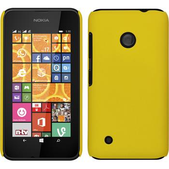 Hardcase Lumia 530 gummiert gelb