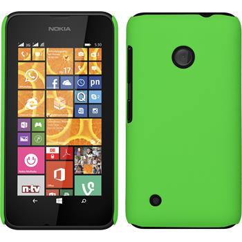 Hardcase Lumia 530 gummiert grün
