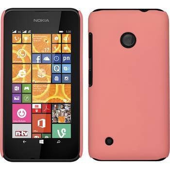 Hardcase Lumia 530 gummiert rosa