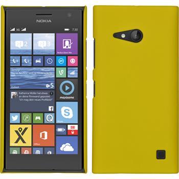 Hardcase Lumia 730 gummiert gelb