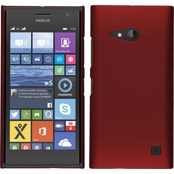 Hardcase Lumia 730 gummiert rot