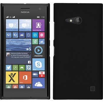 Hardcase Lumia 730 gummiert schwarz