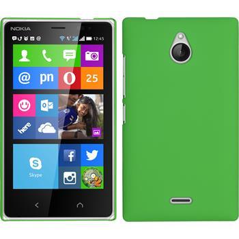 Hardcase für Nokia X2 gummiert grün