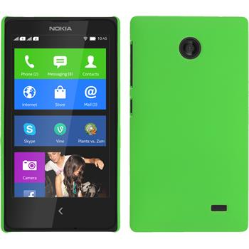 Hardcase for Nokia X / X+ rubberized green