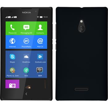 Hardcase for Nokia XL rubberized black