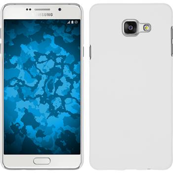 Hardcase für Samsung Galaxy A3 (2016) A310 gummiert weiß