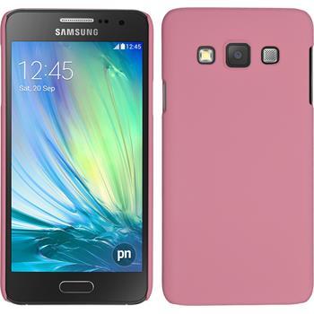 Hardcase Galaxy A3 (A300) gummiert rosa