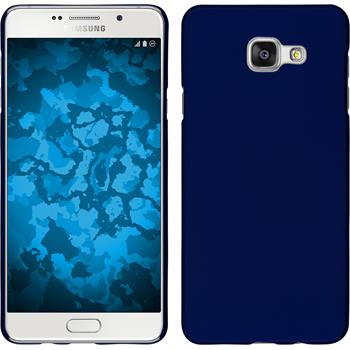 Hardcase für Samsung Galaxy A5 (2016) A510 gummiert blau