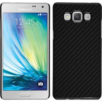 Hardcase Galaxy A5 (A500) Carbonoptik schwarz