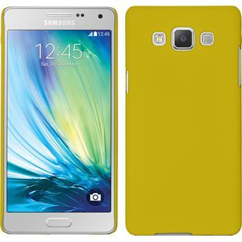 Hardcase Galaxy A5 (A500) gummiert gelb