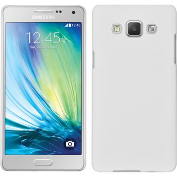 Hardcase Galaxy A5 (A500) gummiert weiß + 2 Schutzfolien