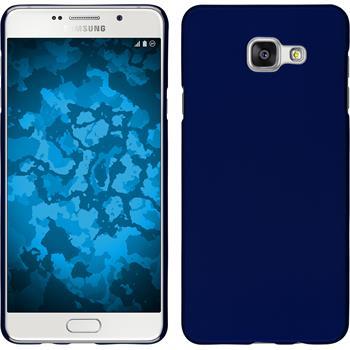 Hardcase Galaxy A7 (2016) A710 gummiert blau