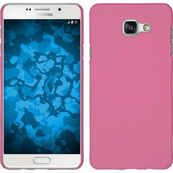 Hardcase Galaxy A7 (2016) A710 gummiert rosa