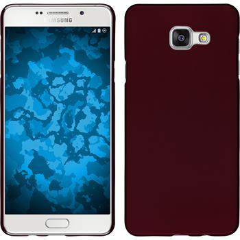 Hardcase Galaxy A7 (2016) A710 gummiert rot