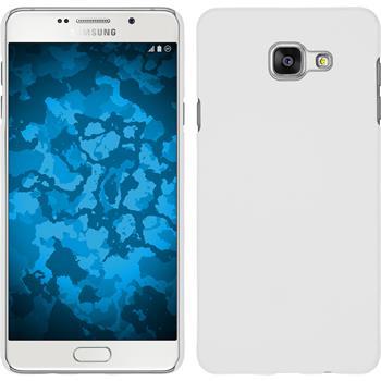 Hardcase Galaxy A7 (2016) A710 gummiert weiß