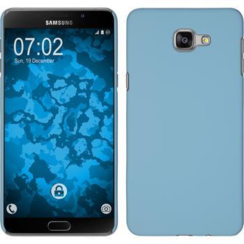 Hardcase Galaxy A9 gummiert hellblau