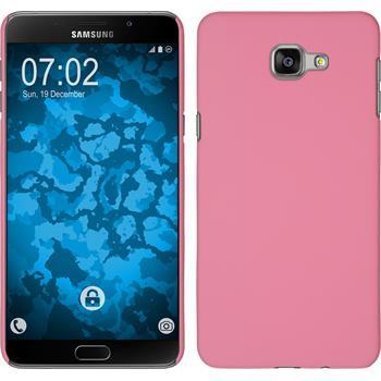 Hardcase Galaxy A9 gummiert rosa