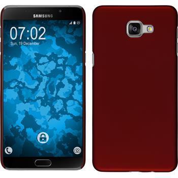 Hardcase Galaxy A9 gummiert rot