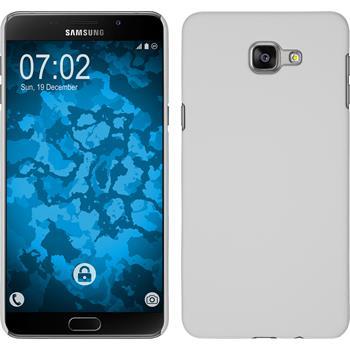 Hardcase für Samsung Galaxy A9 gummiert weiß
