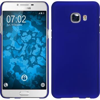 Hardcase Galaxy C5 gummiert blau