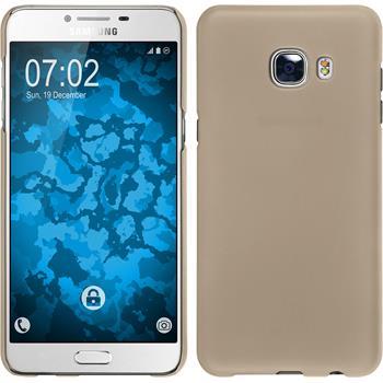 Hardcase Galaxy C5 gummiert gold