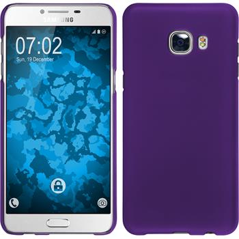 Hardcase Galaxy C5 gummiert lila