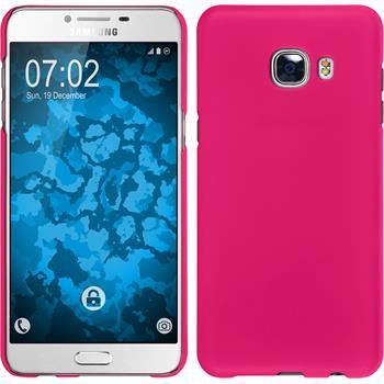 Hardcase Galaxy C5 gummiert pink