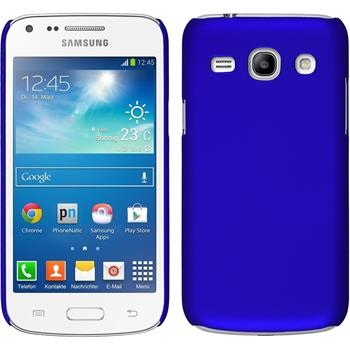 Hardcase Galaxy Core Plus gummiert blau