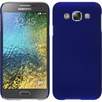 Hardcase Galaxy E5 gummiert blau