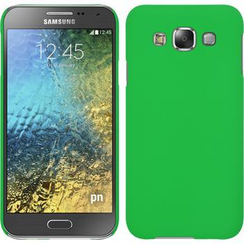 Hardcase Galaxy E5 gummiert grün