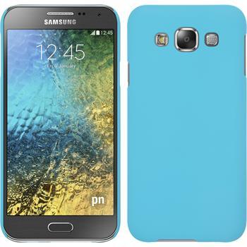 Hardcase Galaxy E5 gummiert hellblau