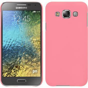 Hardcase Galaxy E5 gummiert rosa