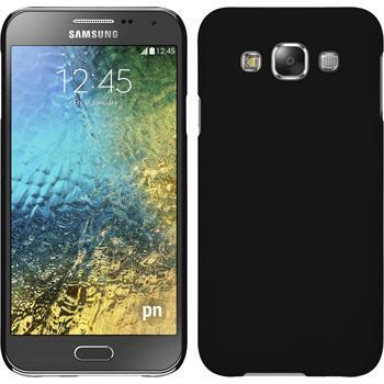 Hardcase Galaxy E5 gummiert schwarz
