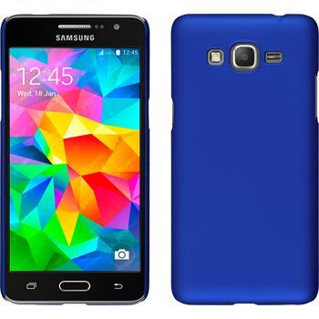 Hardcase Galaxy Grand Prime gummiert blau