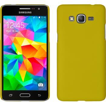 Hardcase Galaxy Grand Prime gummiert gelb