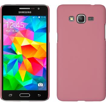 Hardcase Galaxy Grand Prime gummiert rosa