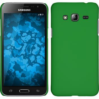 Hardcase Galaxy J3 gummiert grün