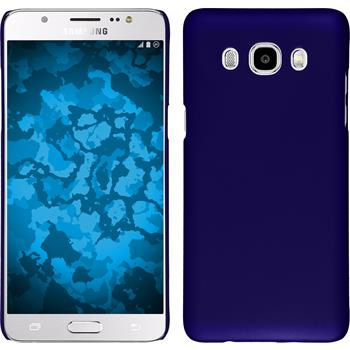 Hardcase Galaxy J5 (2016) J510 gummiert blau