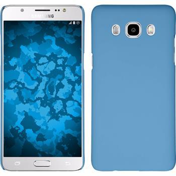 Hardcase Galaxy J5 (2016) J510 gummiert hellblau