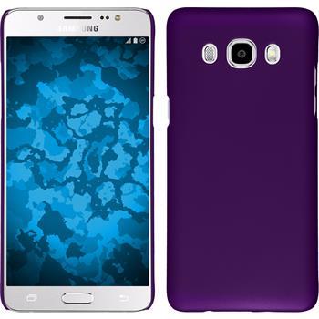Hardcase Galaxy J5 (2016) J510 gummiert lila