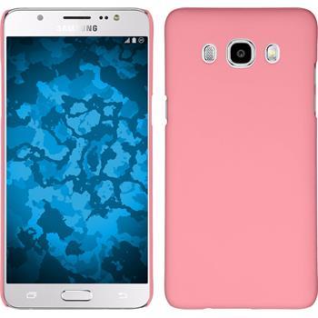 Hardcase Galaxy J5 (2016) J510 gummiert rosa