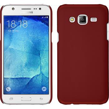 Hardcase Galaxy J7 gummiert rot