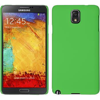 Hardcase Galaxy Note 3 gummiert grün
