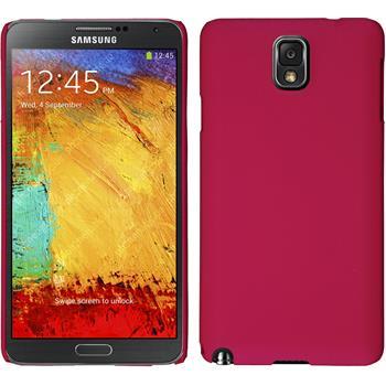 Hardcase Galaxy Note 3 gummiert pink